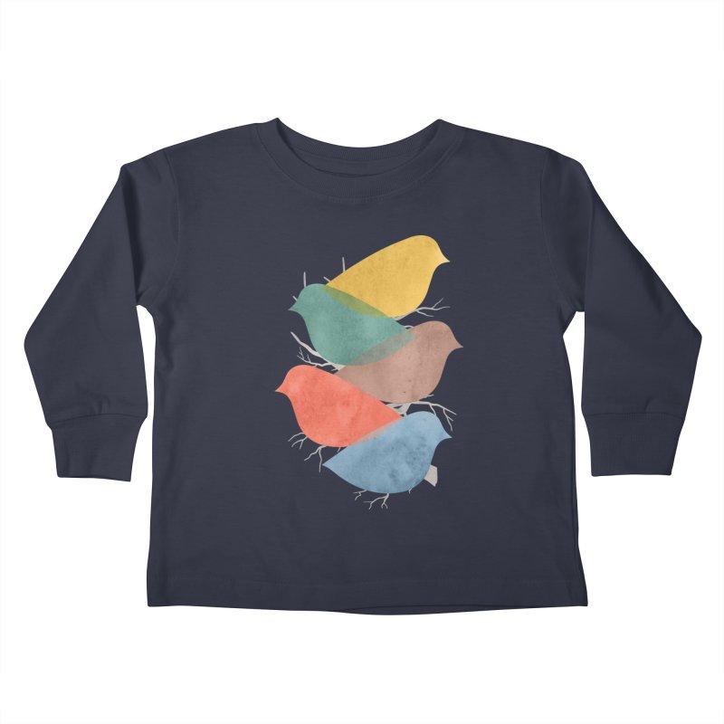 Simplify Kids Toddler Longsleeve T-Shirt by YANMOS