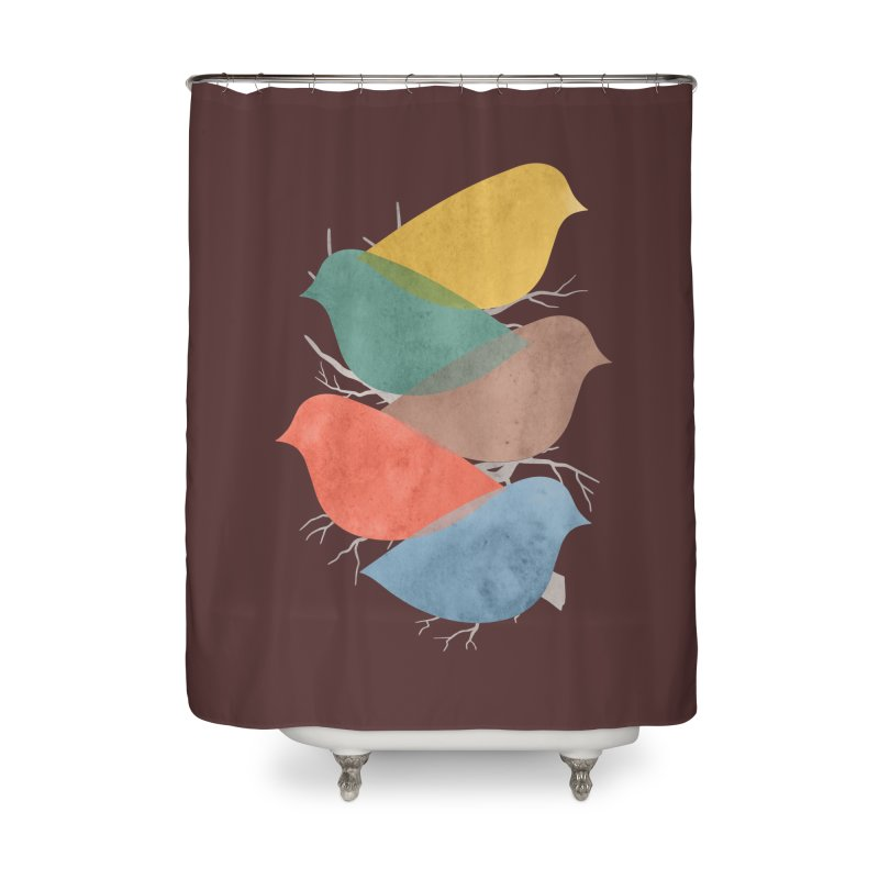 Simplify Home Shower Curtain by YANMOS