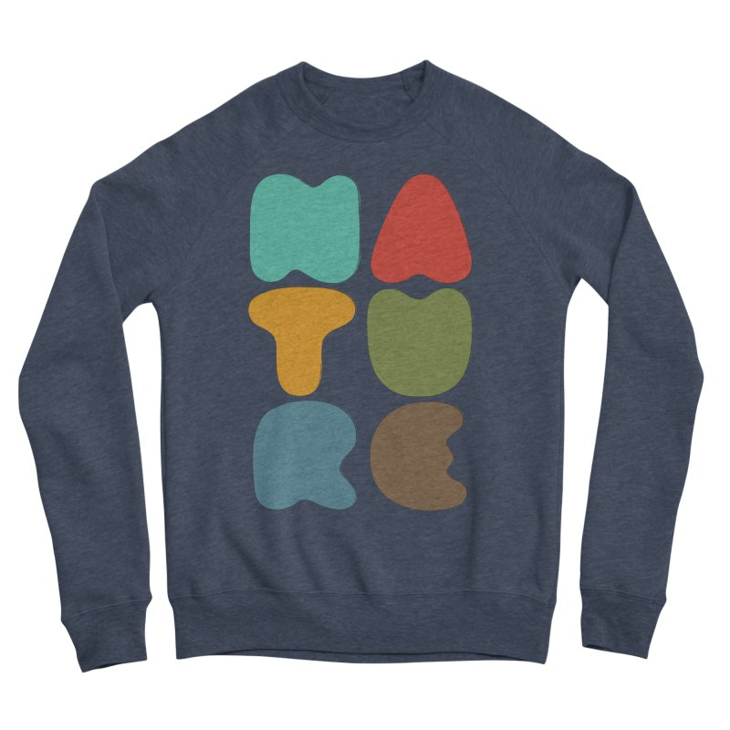 Bold nature Men's Sponge Fleece Sweatshirt by YANMOS