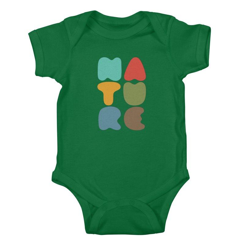 Bold nature Kids Baby Bodysuit by YANMOS