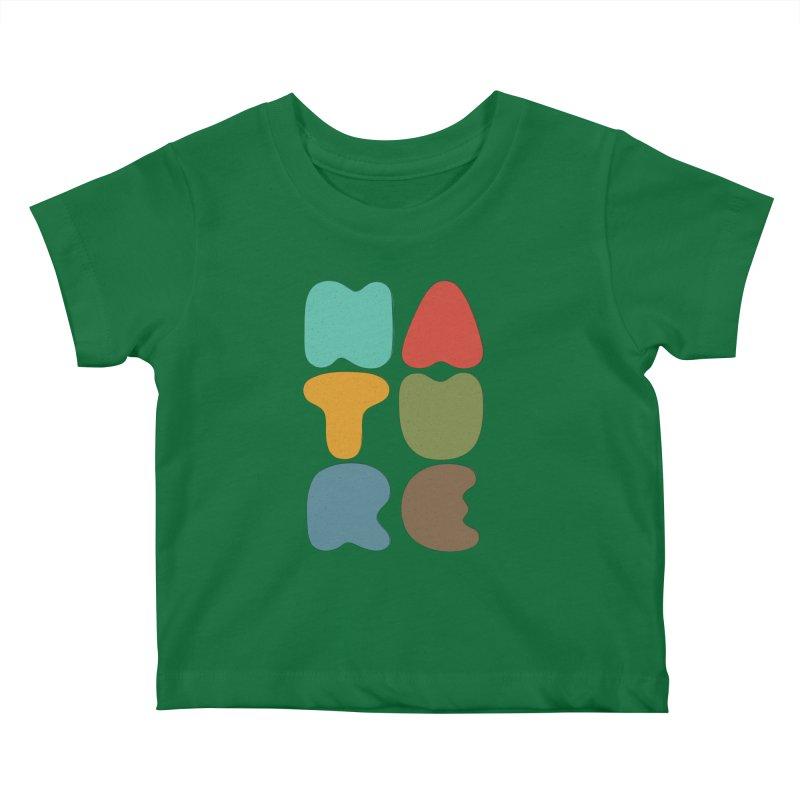 Bold nature Kids Baby T-Shirt by YANMOS