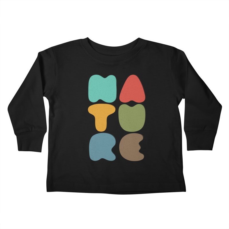 Bold nature Kids Toddler Longsleeve T-Shirt by YANMOS