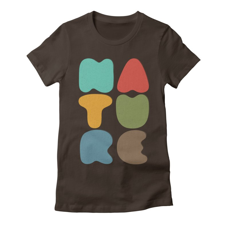 Bold nature Women's Fitted T-Shirt by YANMOS