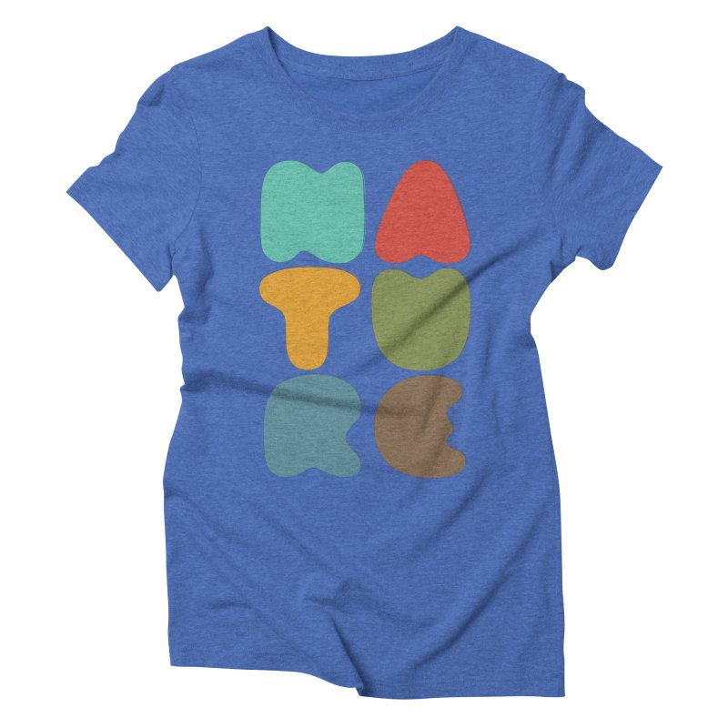 Bold nature Women's Triblend T-Shirt by YANMOS