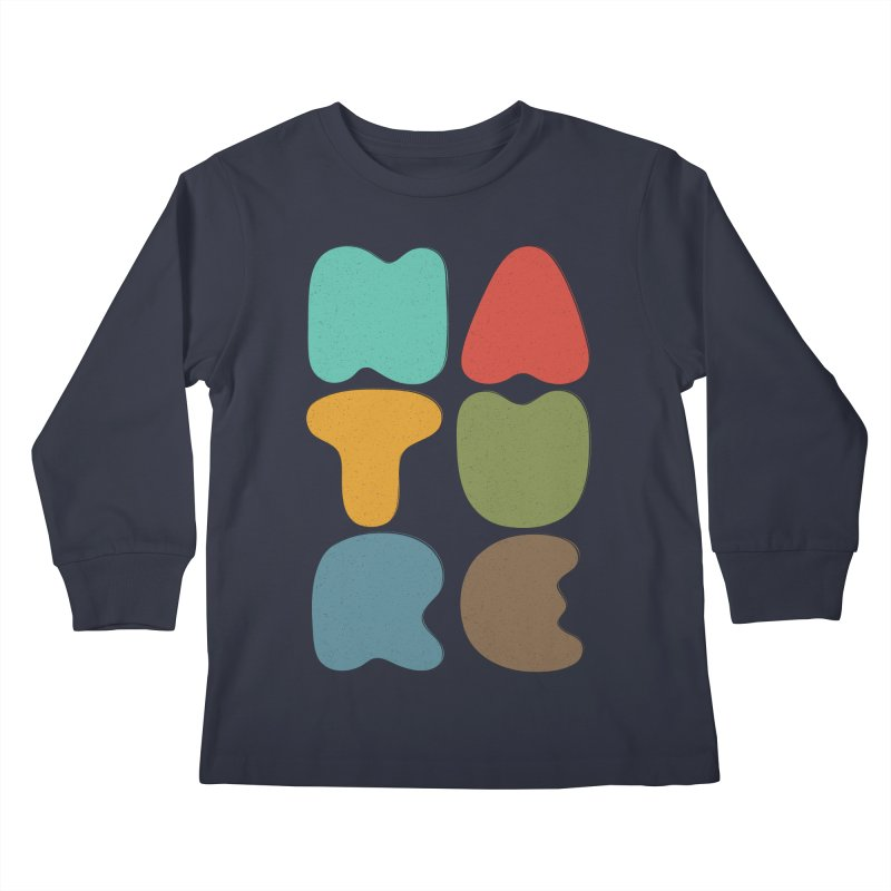 Bold nature Kids Longsleeve T-Shirt by YANMOS