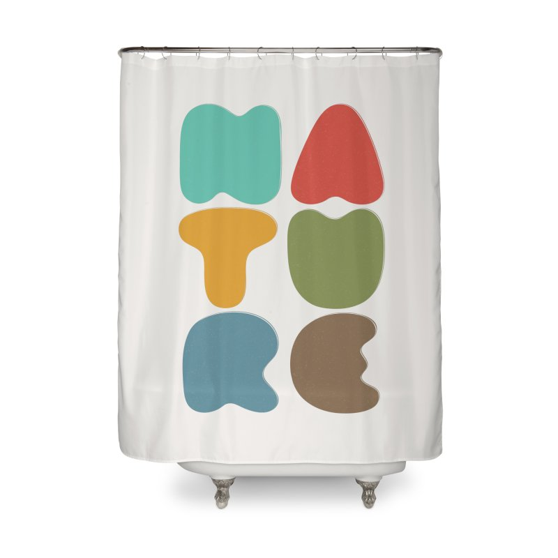 Bold nature Home Shower Curtain by YANMOS