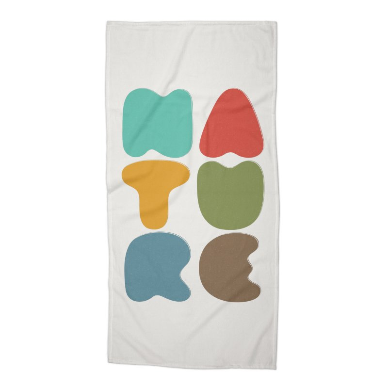 Bold nature Accessories Beach Towel by YANMOS