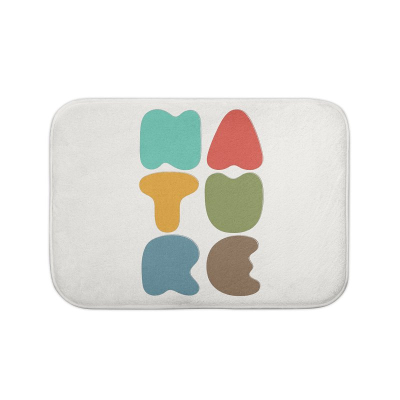 Bold nature Home Bath Mat by YANMOS