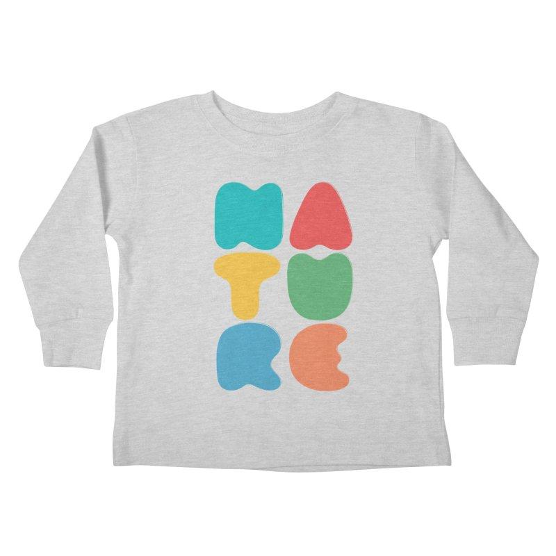 Bold nature Kids Toddler Longsleeve T-Shirt by YANMOS