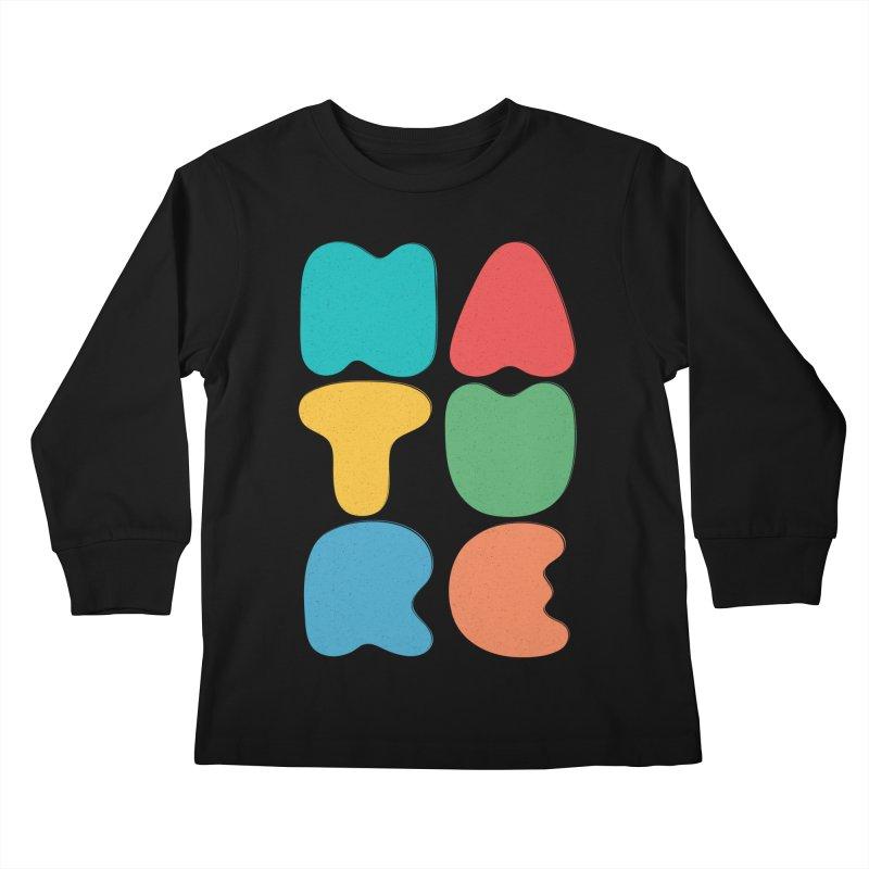 Bold nature Kids Longsleeve T-Shirt by YANMOS