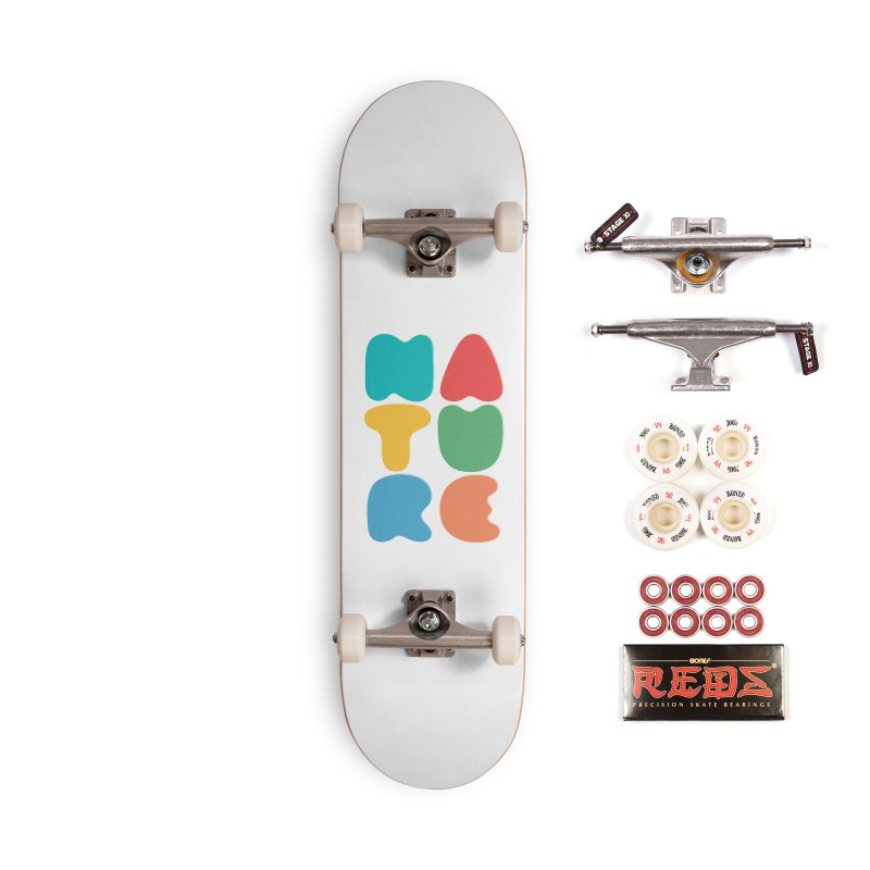 Bold nature Accessories Complete - Pro Skateboard by YANMOS