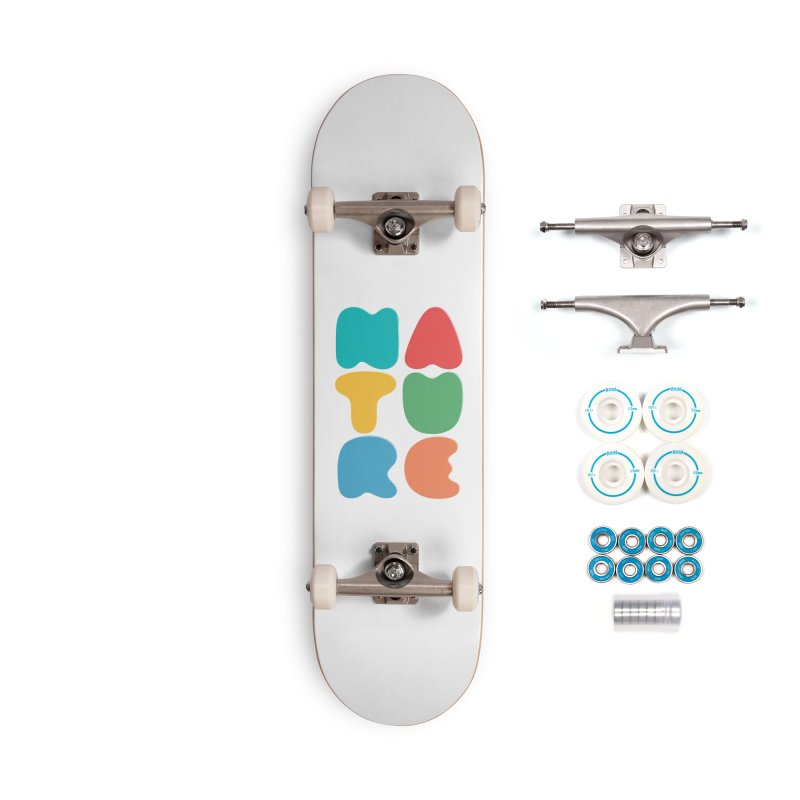 Bold nature Accessories Complete - Basic Skateboard by YANMOS