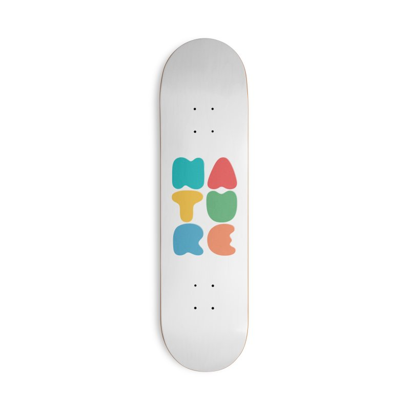 Bold nature Accessories Deck Only Skateboard by YANMOS