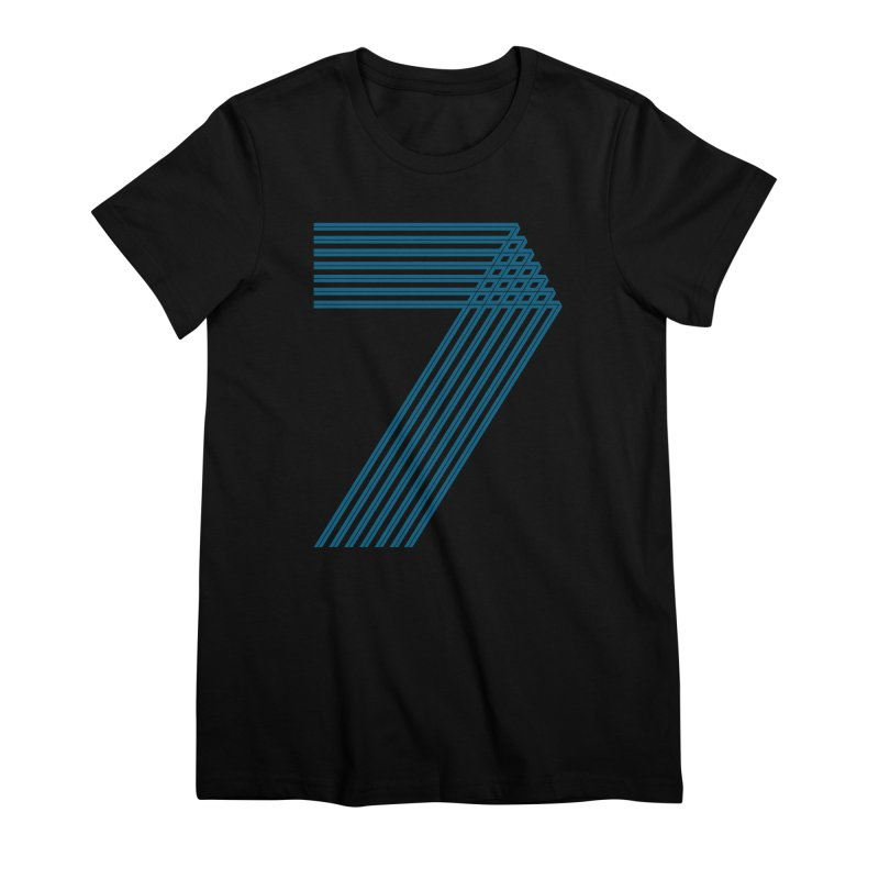 Seven stripes Women's Premium T-Shirt by YANMOS