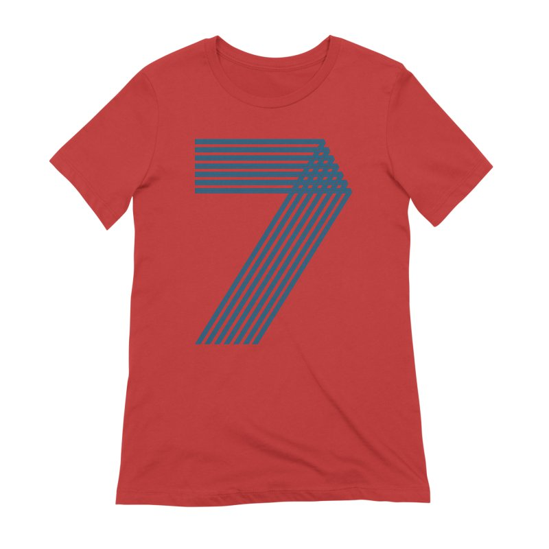 Seven stripes Women's Extra Soft T-Shirt by YANMOS
