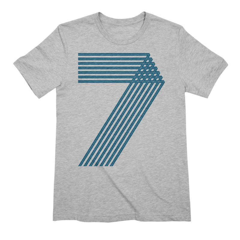 Seven stripes Men's Extra Soft T-Shirt by YANMOS
