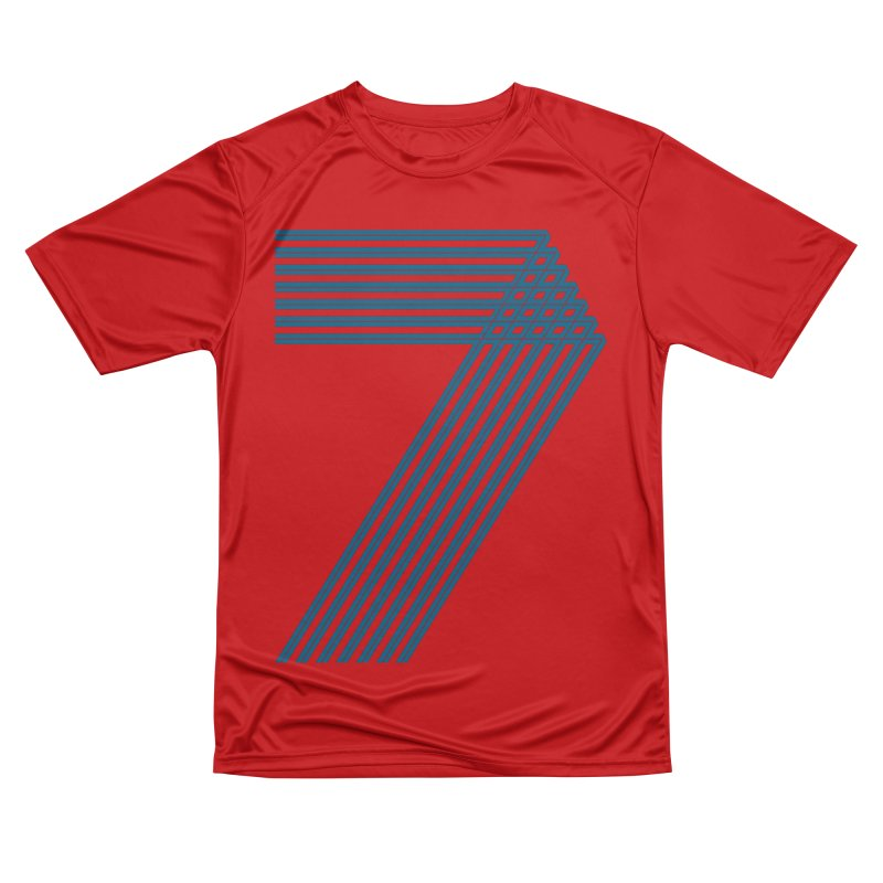 Seven stripes Women's Performance Unisex T-Shirt by YANMOS