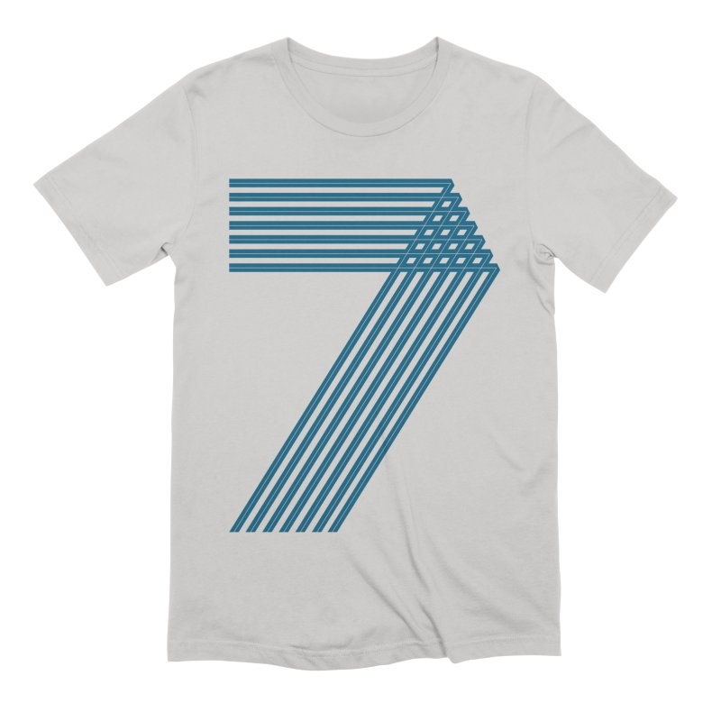 Seven stripes Men's Extra Soft T-Shirt by YANMOS