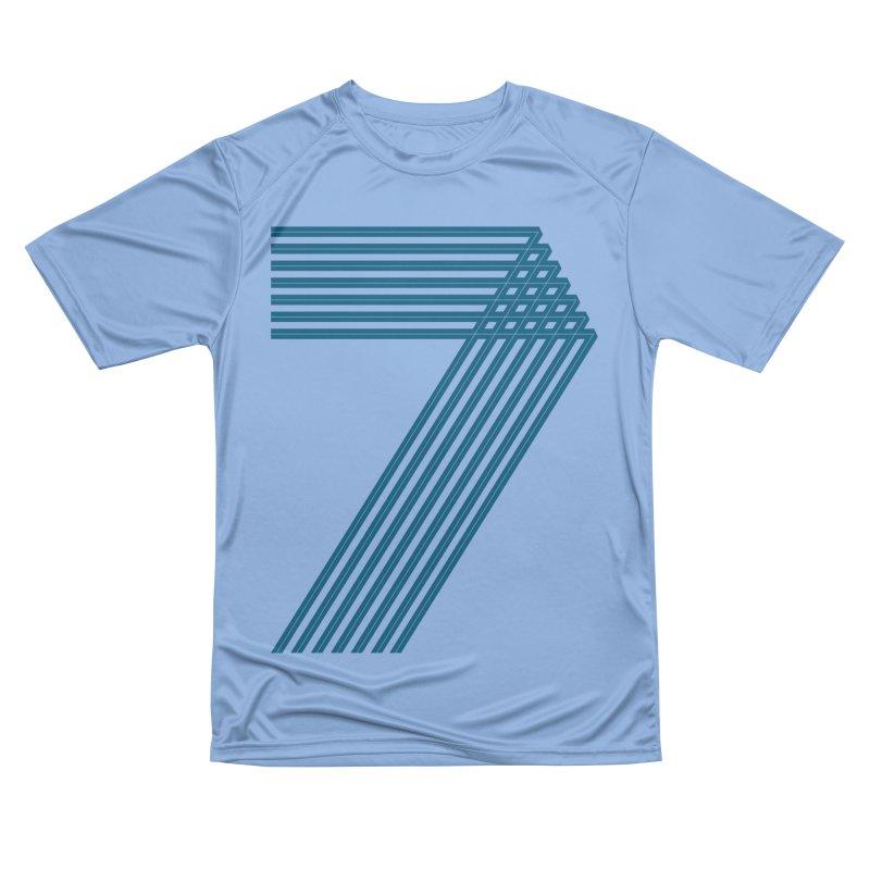 Seven stripes Men's Performance T-Shirt by YANMOS