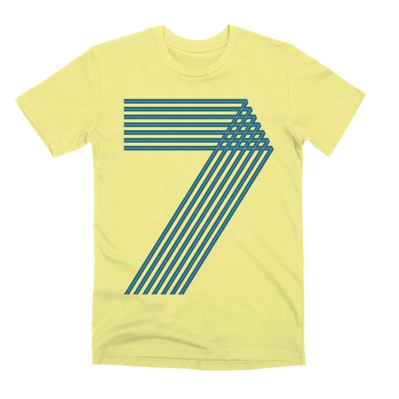 Seven stripes Men's Premium T-Shirt by YANMOS