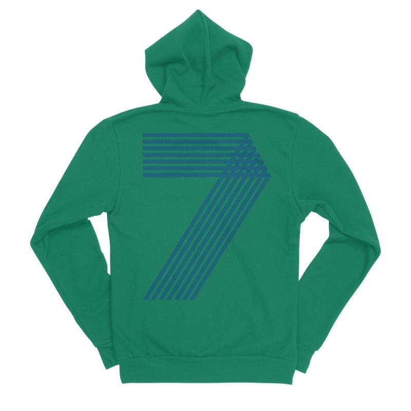 Seven stripes Women's Sponge Fleece Zip-Up Hoody by YANMOS