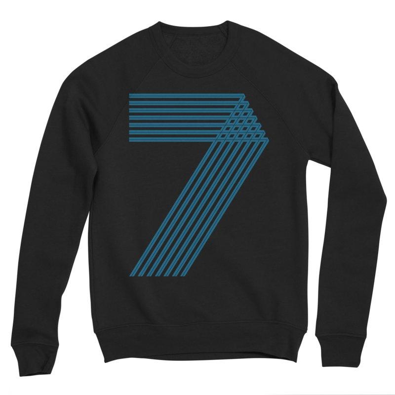 Seven stripes Men's Sponge Fleece Sweatshirt by YANMOS
