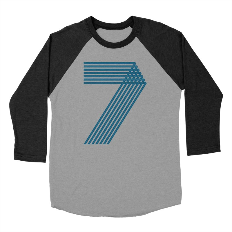 Seven stripes Women's Baseball Triblend Longsleeve T-Shirt by YANMOS