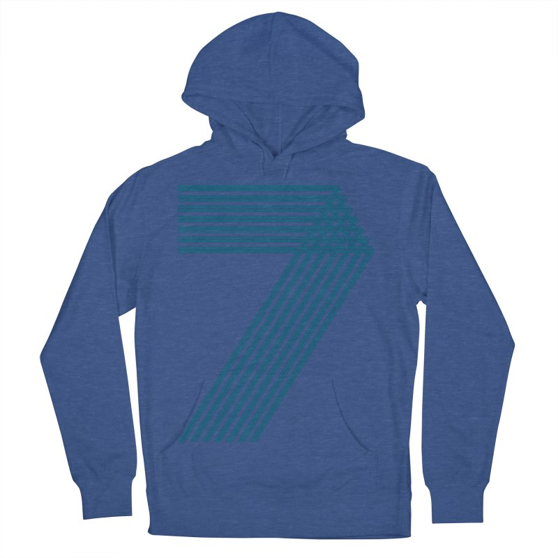 Seven stripes Women's French Terry Pullover Hoody by YANMOS