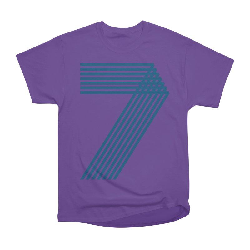 Seven stripes Women's Heavyweight Unisex T-Shirt by YANMOS