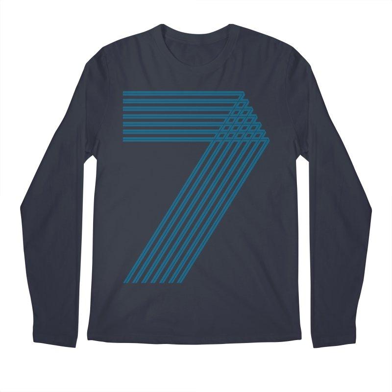 Seven stripes Men's Regular Longsleeve T-Shirt by YANMOS