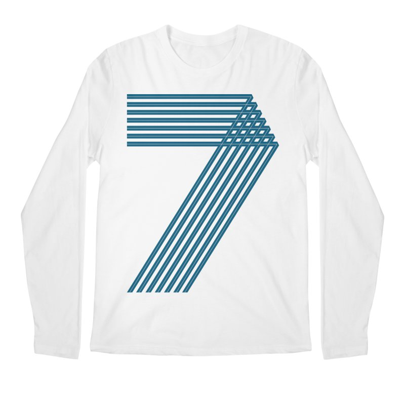 Seven stripes Men's Regular Longsleeve T-Shirt by YANMOS