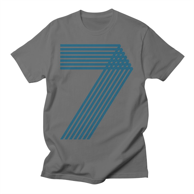 Seven stripes Men's T-Shirt by YANMOS