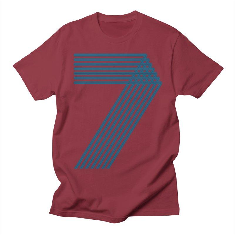 Seven stripes Women's Regular Unisex T-Shirt by YANMOS
