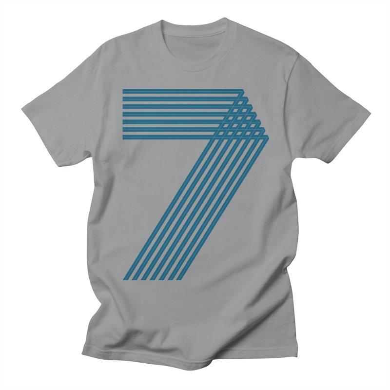 Seven stripes Men's Regular T-Shirt by YANMOS