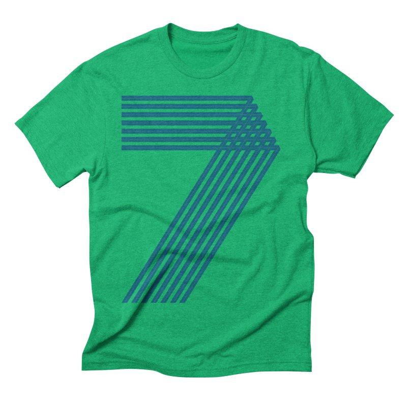 Seven stripes Men's Triblend T-Shirt by YANMOS