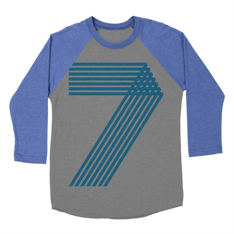 Seven stripes Men's Baseball Triblend Longsleeve T-Shirt by YANMOS
