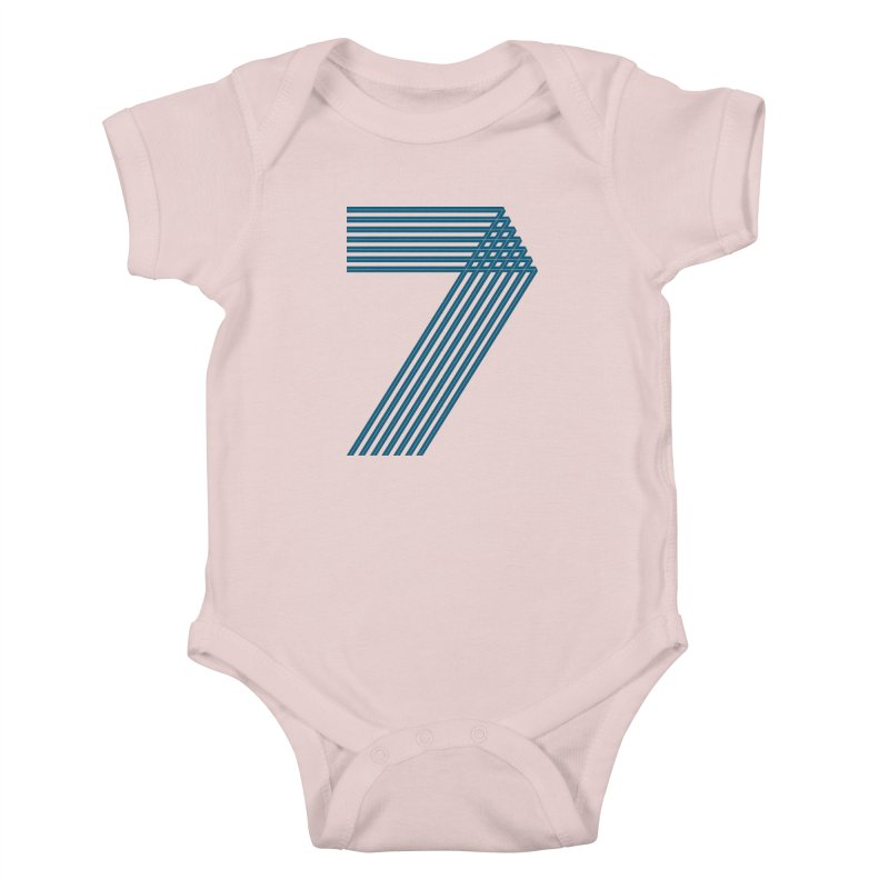 Seven stripes Kids Baby Bodysuit by YANMOS