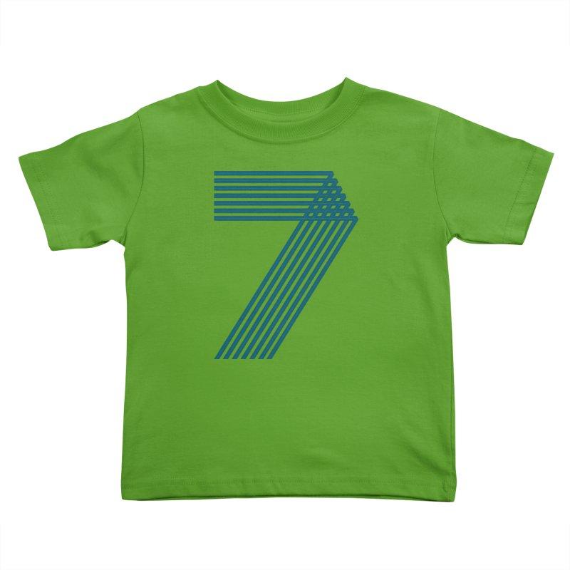 Seven stripes Kids Toddler T-Shirt by YANMOS