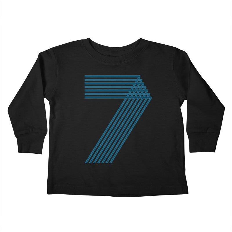Seven stripes Kids Toddler Longsleeve T-Shirt by YANMOS