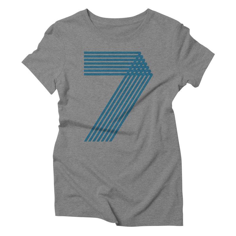 Seven stripes Women's Triblend T-Shirt by YANMOS
