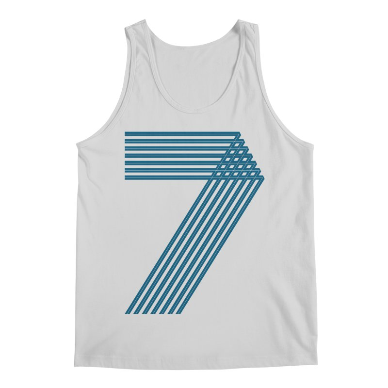 Seven stripes Men's Regular Tank by YANMOS