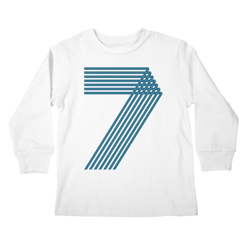 Seven stripes Kids Longsleeve T-Shirt by YANMOS