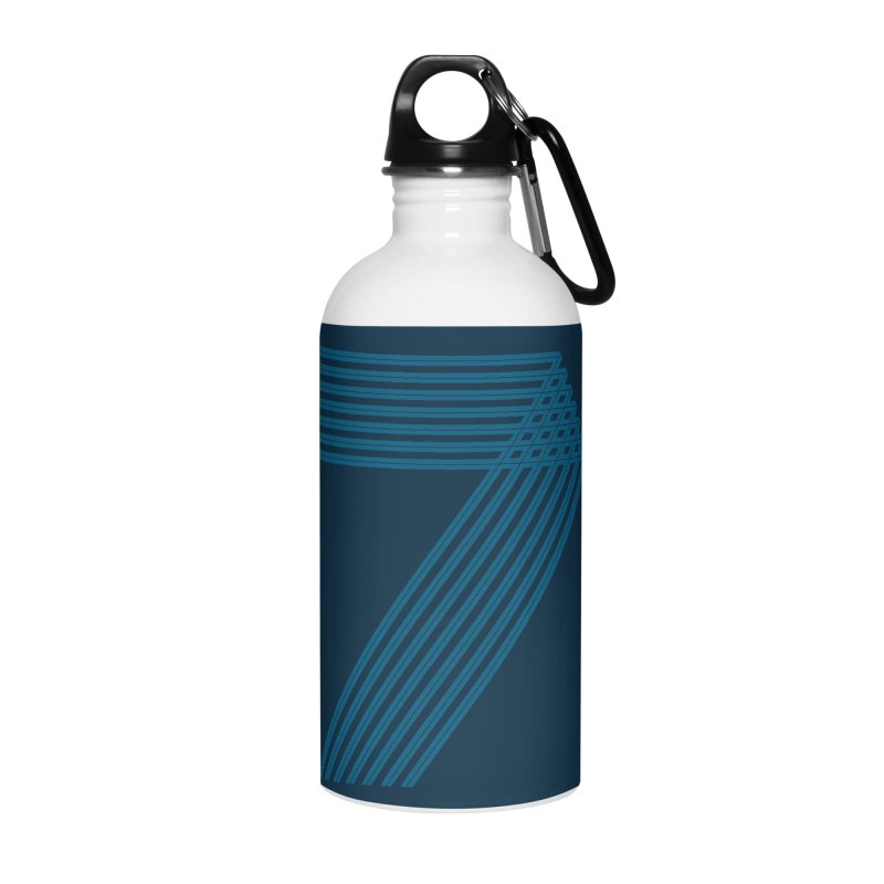 Seven stripes Accessories Water Bottle by YANMOS