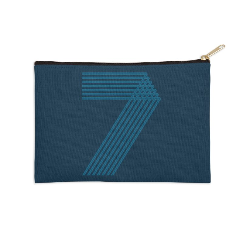 Seven stripes Accessories Zip Pouch by YANMOS