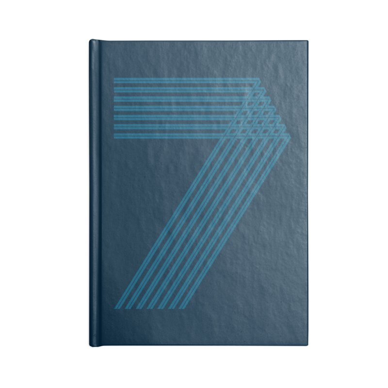 Seven stripes Accessories Lined Journal Notebook by YANMOS