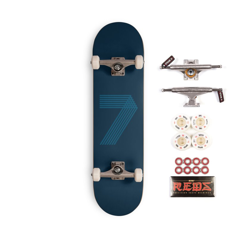 Seven stripes Accessories Complete - Pro Skateboard by YANMOS