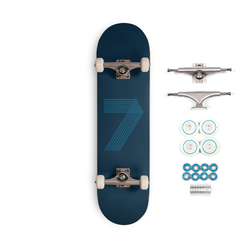 Seven stripes Accessories Complete - Basic Skateboard by YANMOS