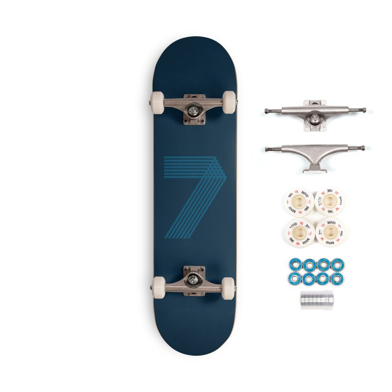 Seven stripes Accessories Complete - Premium Skateboard by YANMOS