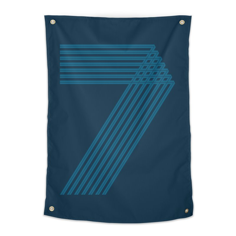 Seven stripes Home Tapestry by YANMOS