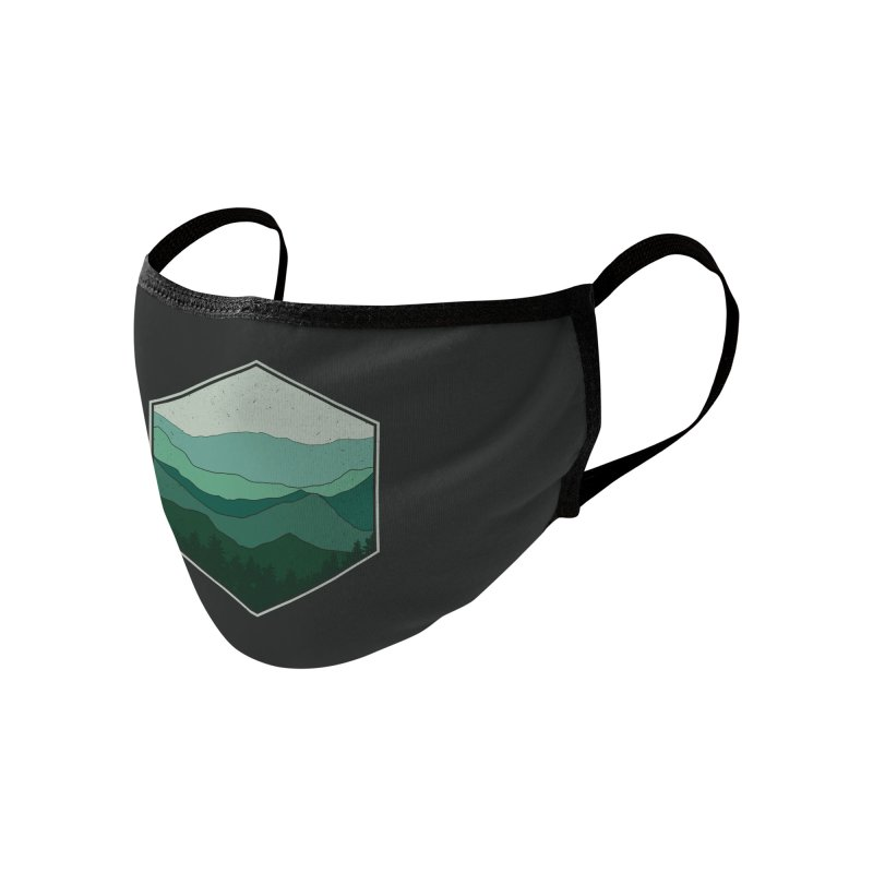The horizon Accessories Face Mask by YANMOS